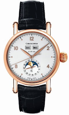 Chronoswiss Sirius Triple Date watch CH 9341 R 18-kt red gold