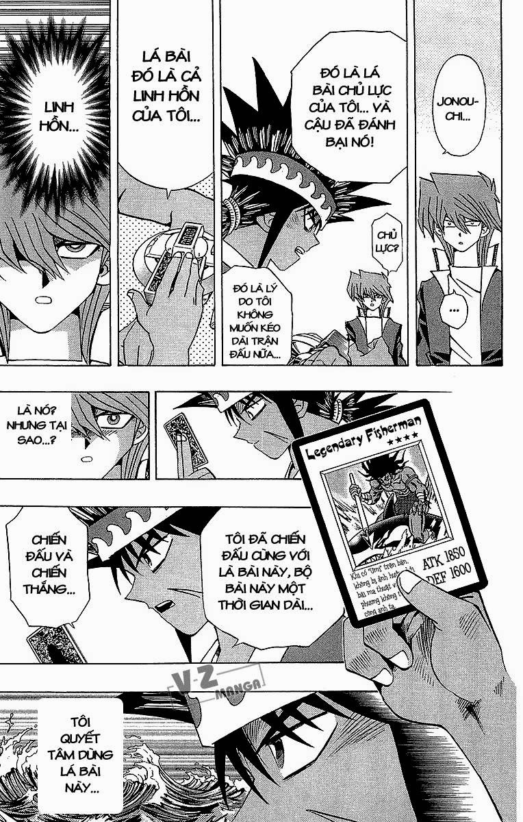 YUGI-OH! chap 183: lý do quyết đấu! trang 6