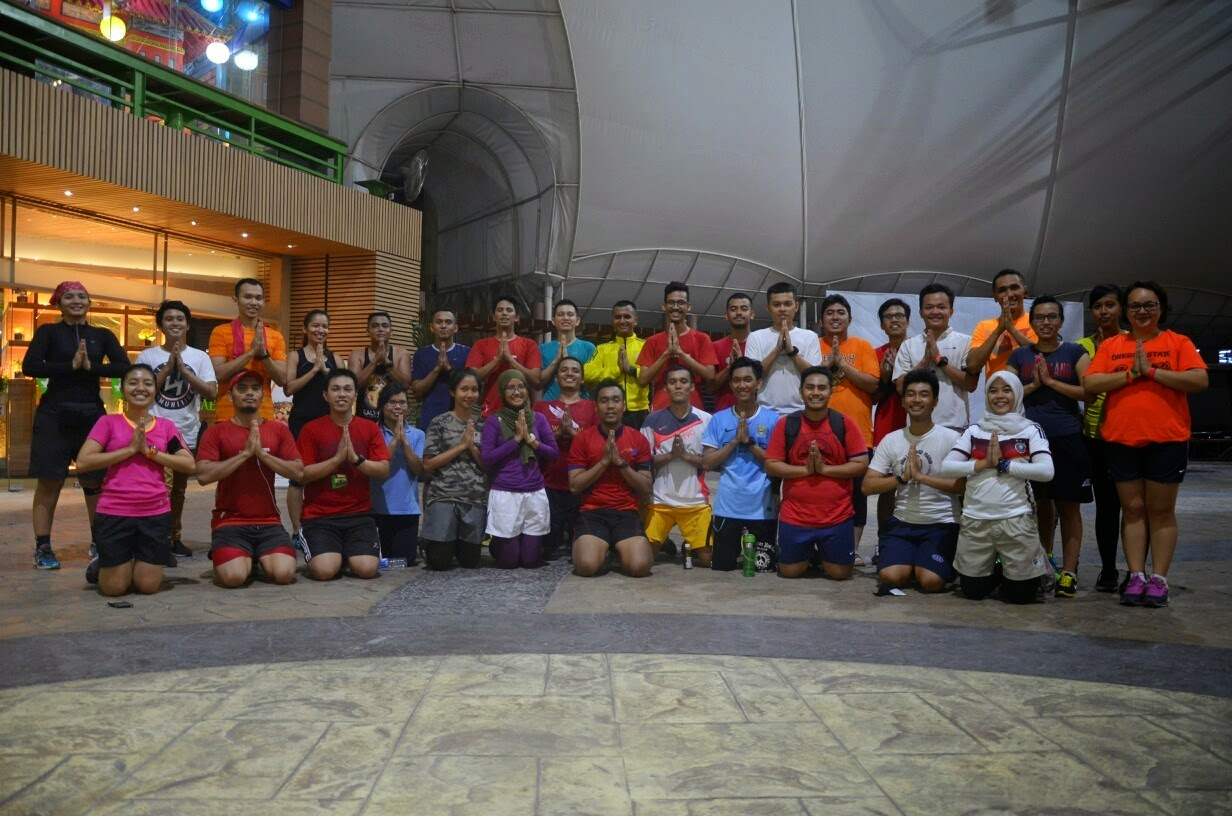 Sahur on the run dan Bukber Run IndoRunners Medan