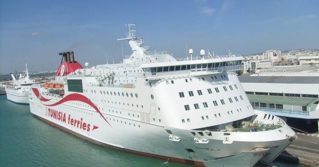 billet bateau salerno tunis