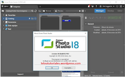 Zoner Photo Studio Pro v18.0.1.8 + Crack [Full] [MEGA]