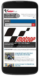 MotoGP Crash - Template SEO Friendly untuk Blog Berita MotoGP & Bola