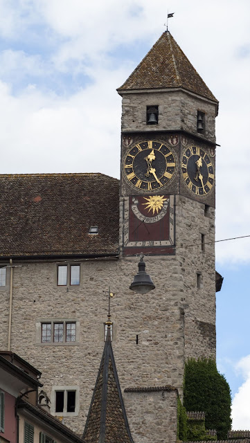 Clock tower at Rapperswil Castle