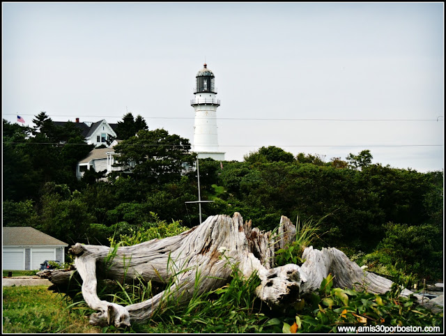 Faro Two Lights en Cape Elizabeth, Maine