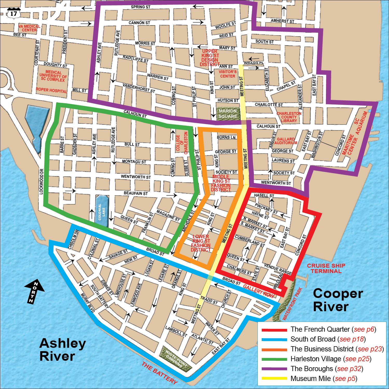 Historic Downtown Charleston Sc