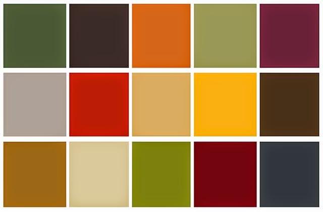 Fashion Promotion Blog  1970s  Colour Palettes  Patterns