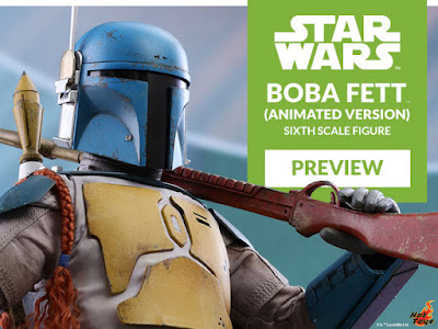 "Boba Fett (Animation Version) 1/6 de ""Star Wars"" - Hot Toys"
