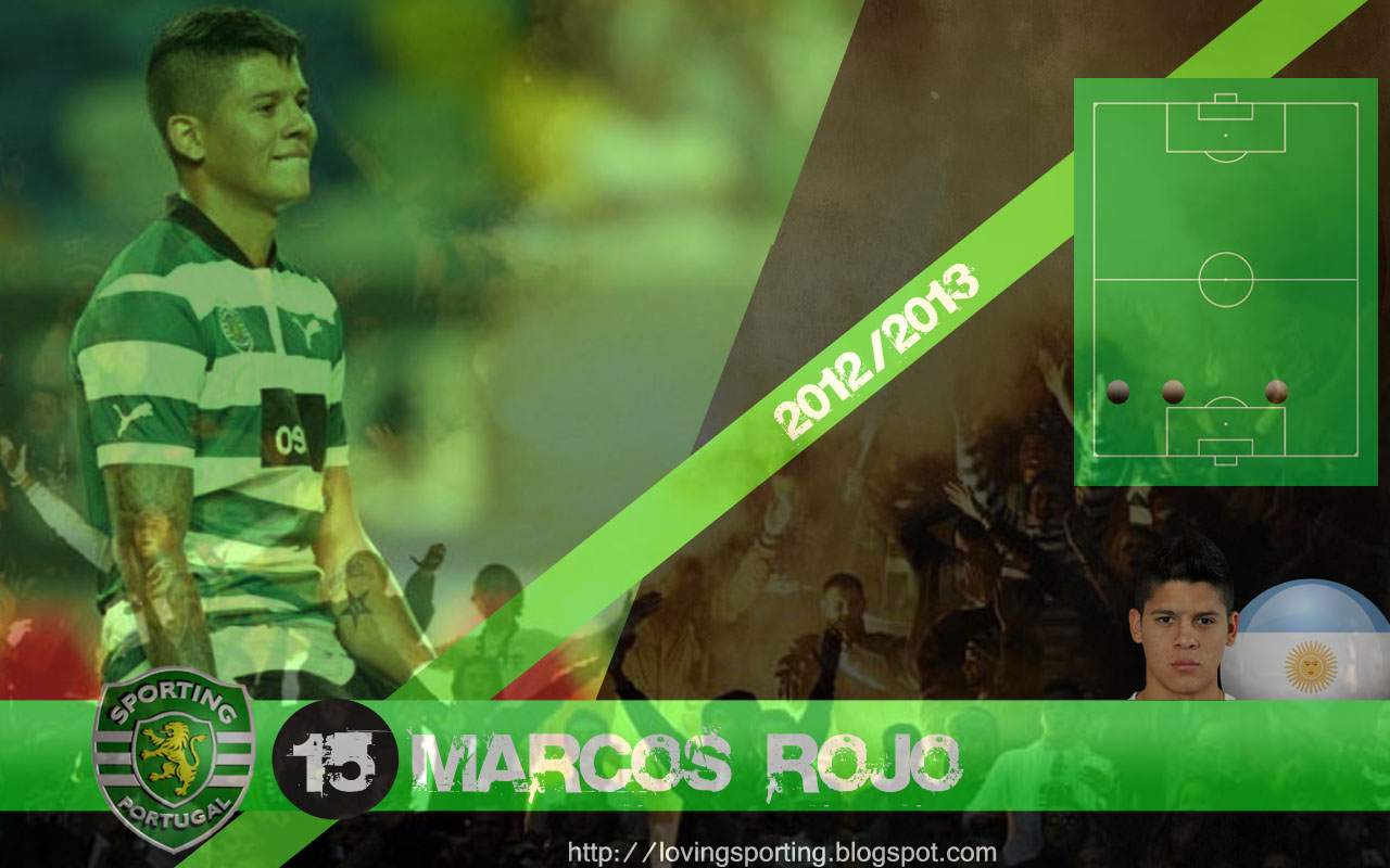 Marcos Rojo - Wallpaper 2012/2013