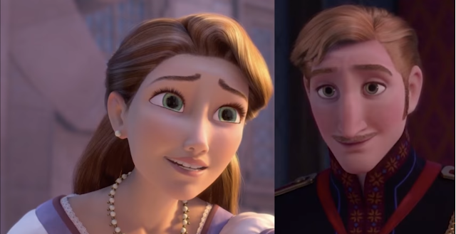 Anna, Elsa i Roszpunka są kuzynkami