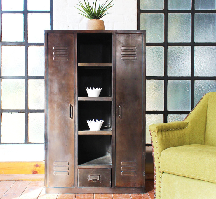armoire industrielle - Made in Meubles