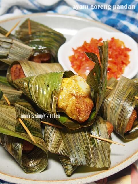resep ayam goreng daun pandan