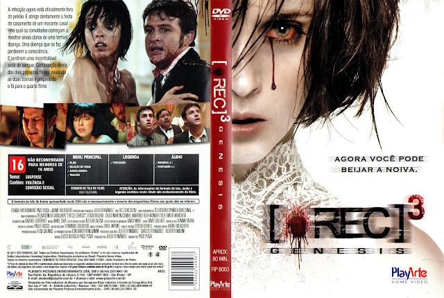 Capa DVD [REC]³ Genesis