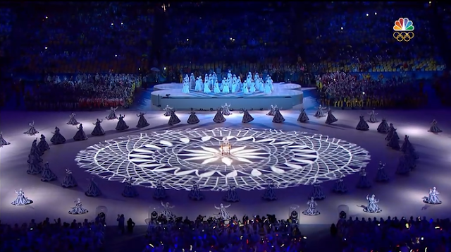 Slave women dresses dancing Rio 2016 Olympic Games Closing Ceremony