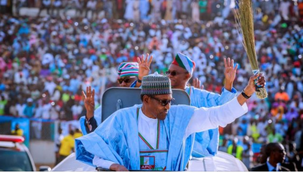 Image result for Again, Buhari's campaign turns bloody as 4 die in Rivers