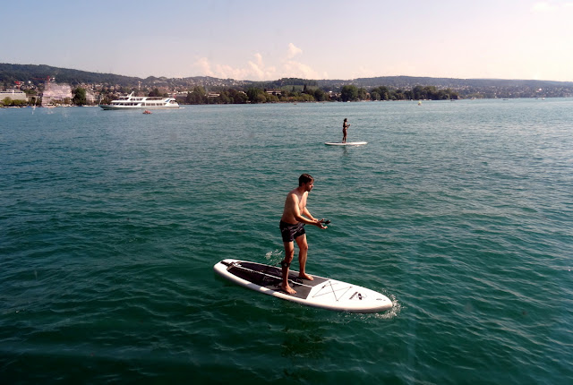 Stand Up Paddle SUP Zurich