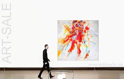 Mit Liebe gemalte großformatige Bilder, abstrakte Gemälde und Acrylbilder!