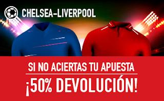 sportium promocion Chelsea vs Liverpool 29 septiembre