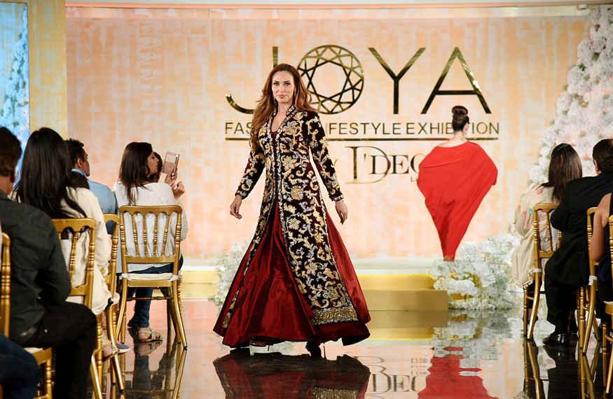 Iulia Vantur at The Joya Fashion Show In Mumbai
