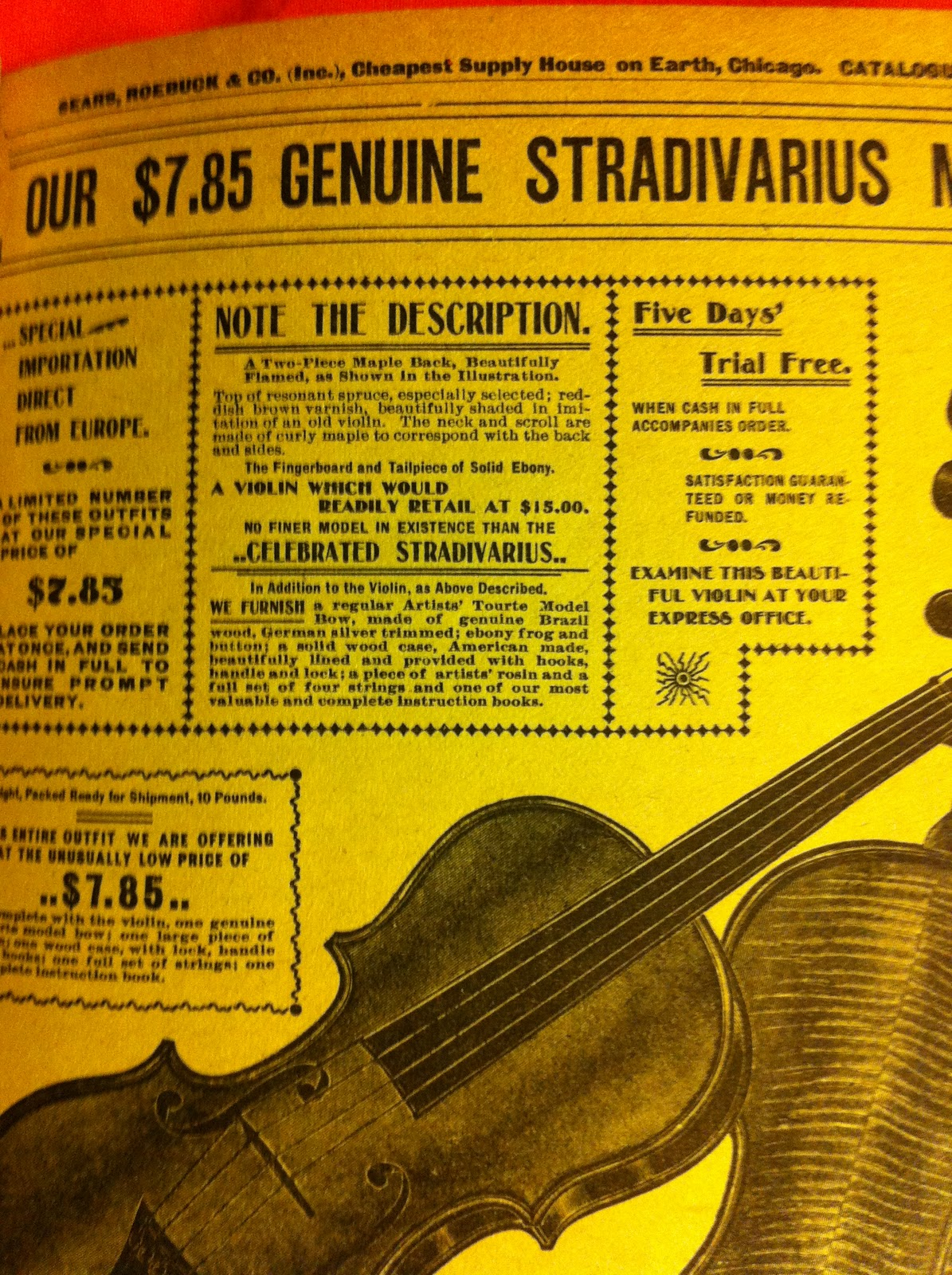 The Violin Shop So You Think You Found A Stradivarius