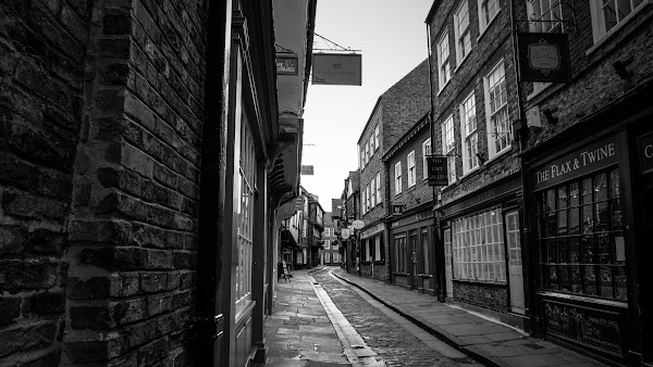 On the streets of York, England
