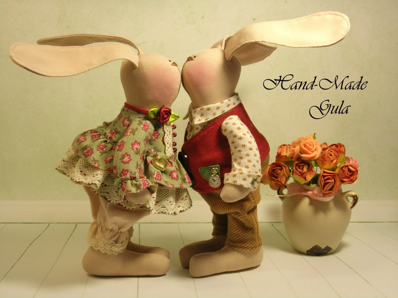 Make Your Easter Bunny From Fabric Home Decorating Ideas