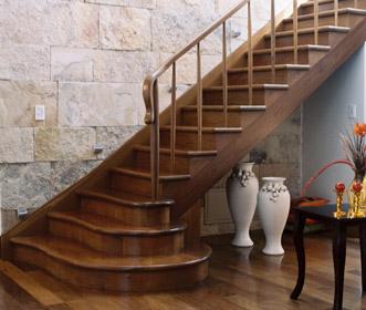Disenyoss decoracion decoracion de escaleras - Escaleras de madera rusticas ...