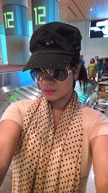 Gunjan Pant selfie