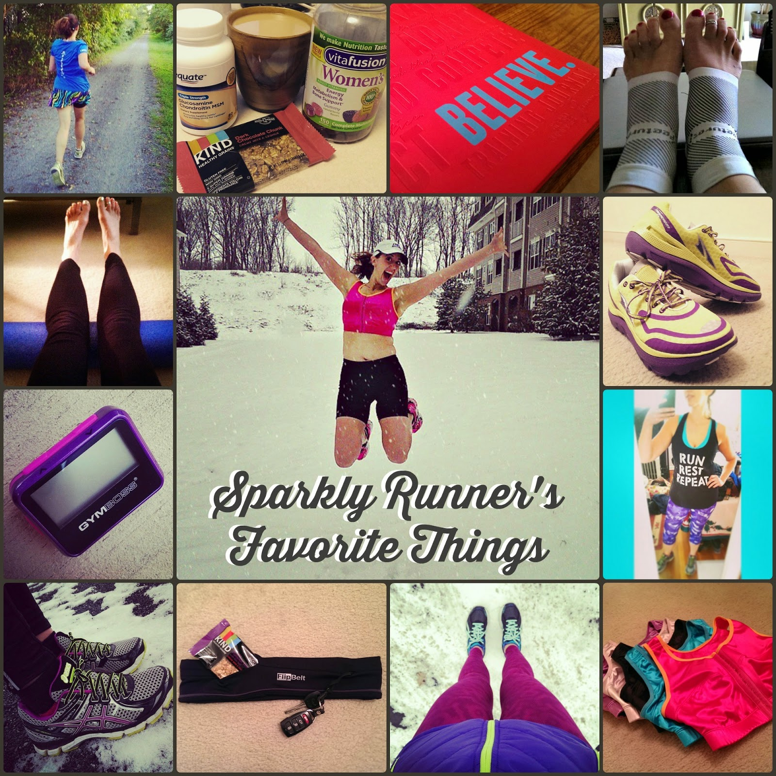 Sparkly Runner My Favorite Running Things Part Iii