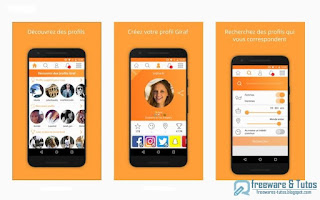 Giraf : une application Android