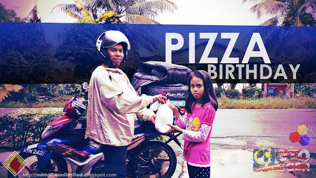 Pizza Birthday Girl