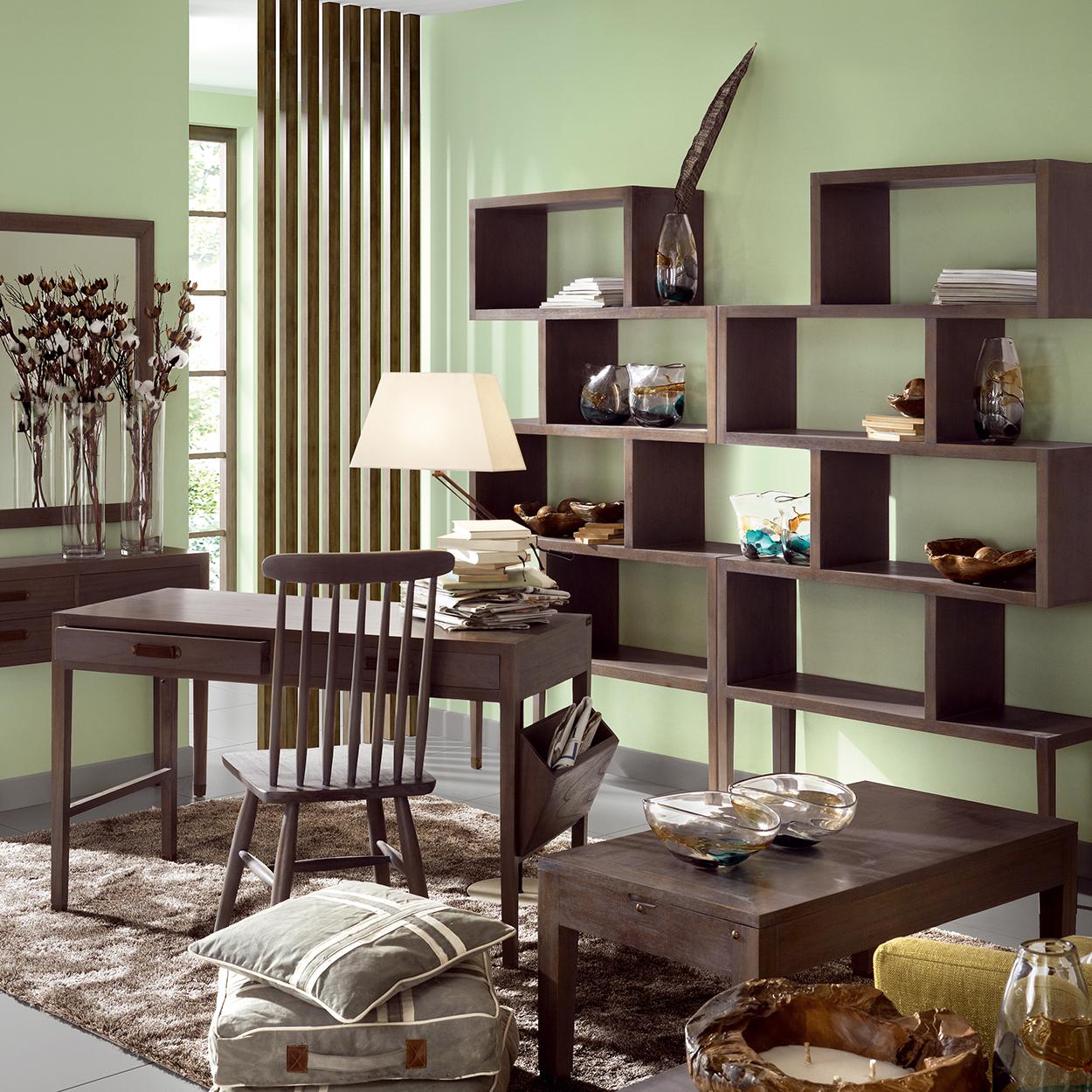 Muebles de sal n estanterias y librerias orden para el salon - Librerias para el salon ...