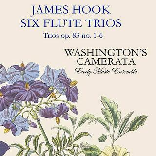 James Hook Six Flute Trios Op. 83 No. 1-6