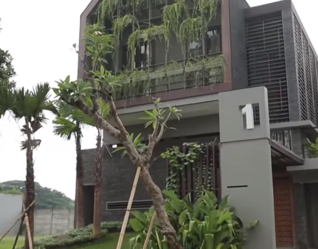 Green Ethnic House