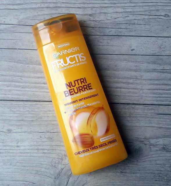 Fructis nutri beurre cheveux secs et frisés