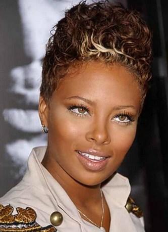 Terrific Short Mohawk Hairstyles For Black Women In Society Women Hairstyles Hairstyles For Women Draintrainus