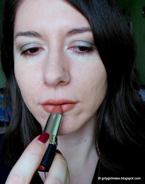 avon perfectly matte lipstick ruž marvelous mocha