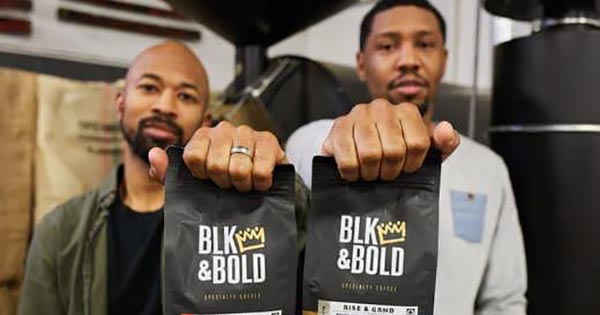 Founders of Blk & Bold, a Black-owned coffee and tea brand