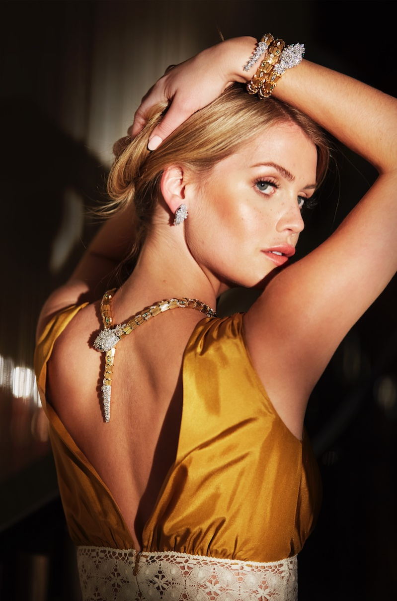 Lady Kitty Spencer is the new ambassador for jewelry brand Bulgari