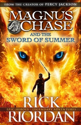 Magnus Chase and the Sword of Summer by Rick Riordan book cover