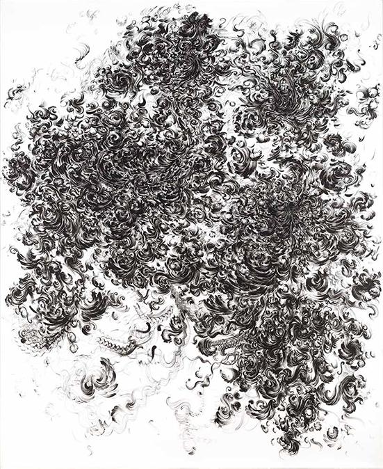 drawing Patrick Gabler Drawing nr. 2, 2013