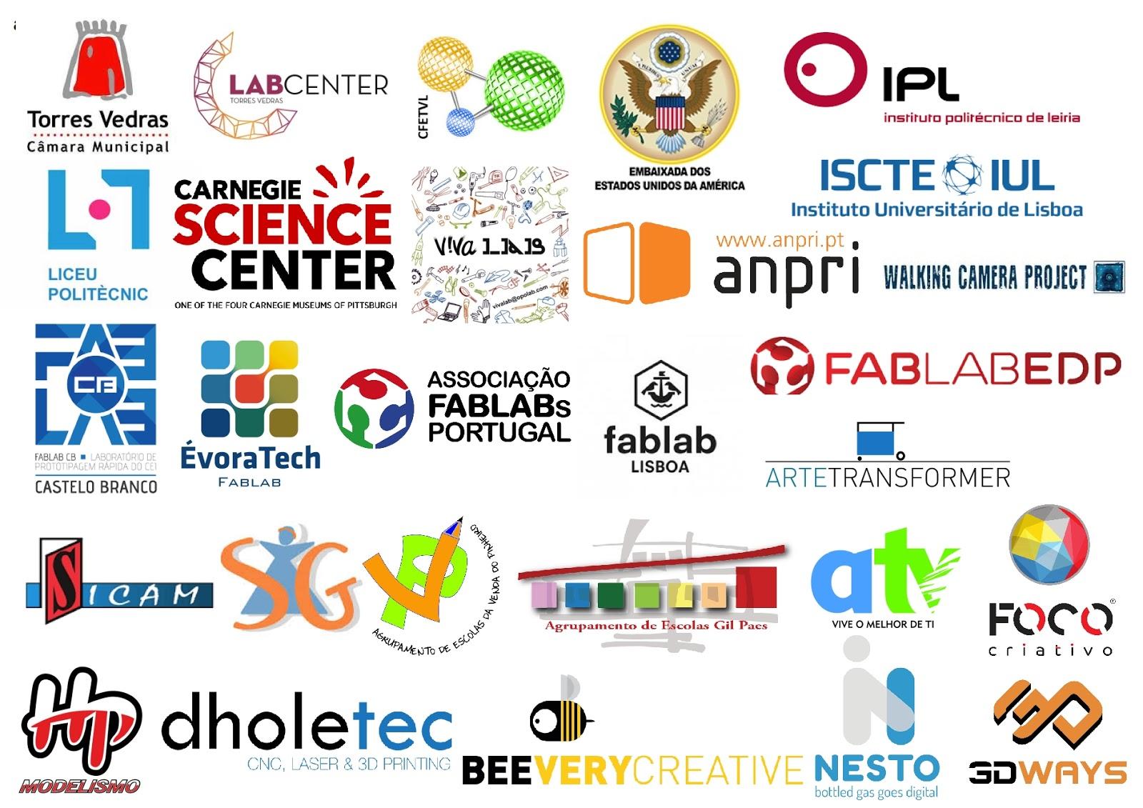 Este evento é organizado pelo Associação LAB ABERTO FAB LAB, com apoio da Câmara Municipal de Torres Vedras, Embaixada dos Estados Unidos da América, ...