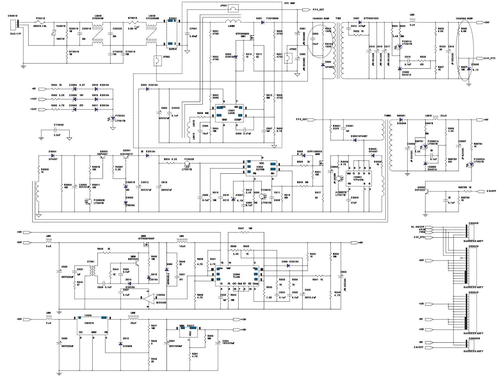 Lcd Monitor Circuit Diagram Not Lossing Wiring Screen Schematic Data Rh 57 American Football Ausruestung De Pdf Inverter