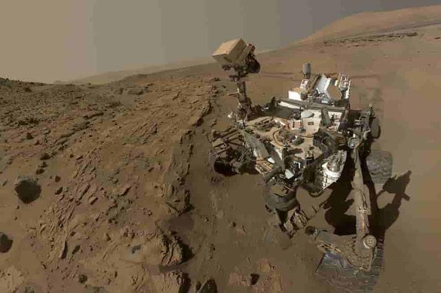 imagen. ¿Sabe la NASA que hay vida en Marte?