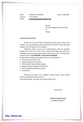 Contoh Proposal Penjualan Baju Contoh Proposal Usaha Slideshare Contoh Surat Permohonan Bantuan Inti Blogger