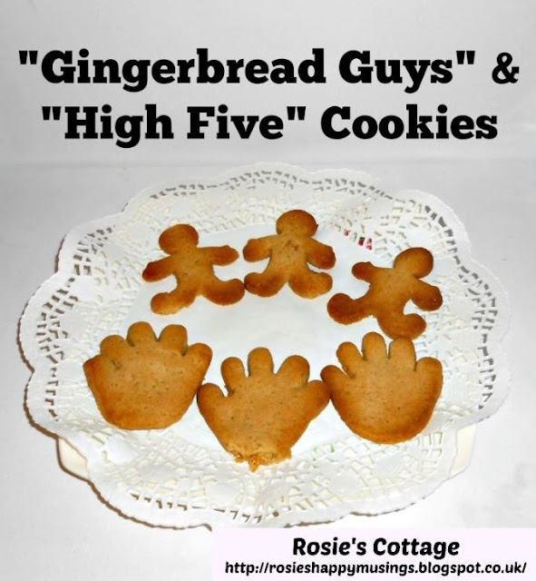 Gingerbread Guys & High Five Cookies