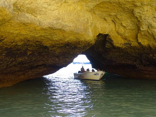 Ponta Grande, Cala escondida algarve secreta oculta barca