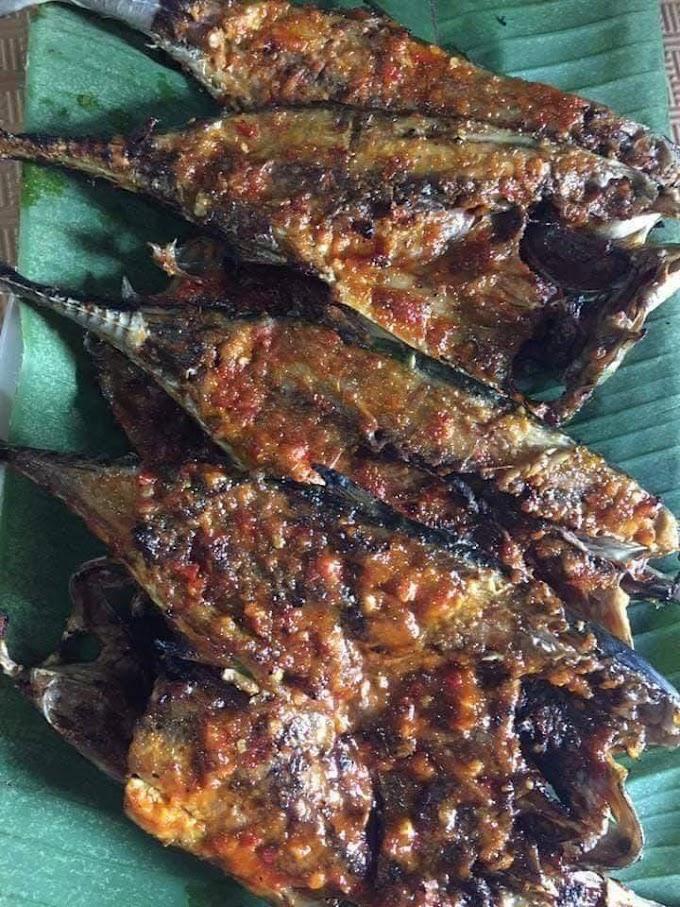 Resepi Ikan Cencaru Bakar Berempah