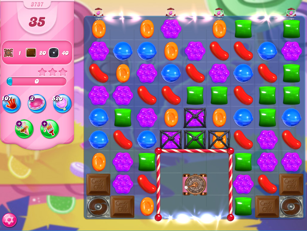 Candy Crush Saga level 3737
