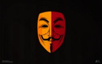Wallpaper: Vendetta Mask