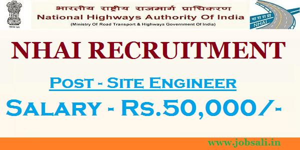 NHAI contract jobs, Govt Jobs in Uttarakhand, NHAI Site Engineer